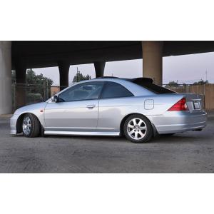 SK-Import Hinten Windabweiser Getönt Plastik Honda Civic-56219