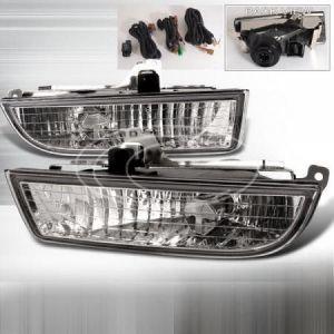 SK-Import Nebelscheinwerfer Chrom Gehäuse Klares Glas Honda Prelude-39474