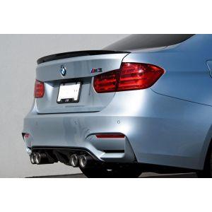 CarbonWorks Hinten Diffusor Carbon BMW 3-serie,4-serie-64241