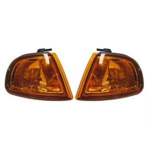 Sonar Kurven JDM Style Chrom Gehäuse Oranges Glas Honda Prelude-31664