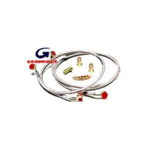 Goodridge Vorne und Hinten Bremsleitungen Edelstahl Honda S2000-53868