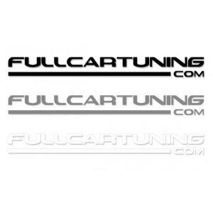 Fullcartuning Aufkleber 100cm-37150