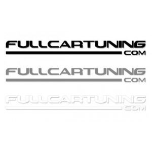 Fullcartuning Aufkleber 30cm-37156