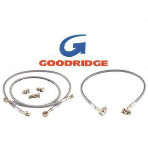 Goodridge Vorne Bremsleitungen Edelstahl Honda Accord-37250