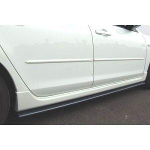 ABS Dynamics Seitenschweller Schwarz ABS Plastik Mitsubishi Lancer Evolution-43545