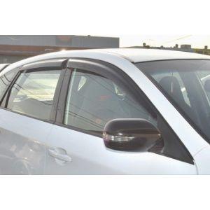 SK-Import Vorne und Hinten Side Window Visor JDM Getönt Plastik Subaru Impreza-43561