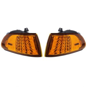 Eagle Eye Blinker LED Chrom Gehäuse Oranges Glas Honda Civic-50096