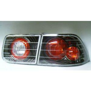 Sonar Rücklicht Schwarz - Chrom Klares Glas Honda Civic-41007