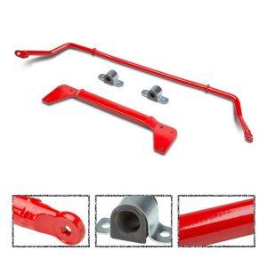 SK-Import Hinten Verstärkungsplatte + Stabilisator Kit Rot 26mm Stahl Honda Civic-56402