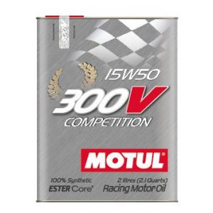 Motul Motoröl 300V Competition 2 Liter 15W-50 100 Synthetisch-58895