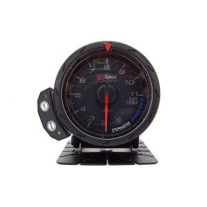 D1 Spec Anzeige Version 2 Schwarz 60mm Abgastemperatur-60302