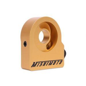 Mishimoto Ölkühler Sandwich Platte Gold Aluminium-60326