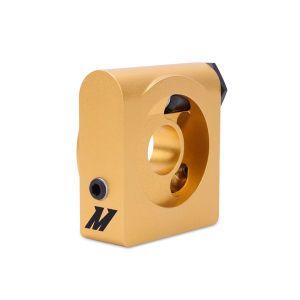 Mishimoto Ölkühler Sandwich Platte 85 Grad Gold Aluminium-60747