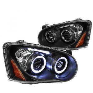 SK-Import Scheinwerfer Amber Corner Schwarzes Gehäuse Klares Glas Subaru Impreza-61383