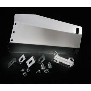 M2 Motorsport Differential Abschirmung Chrom Stahl Subaru Impreza-62602