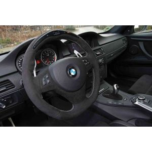 D1 Spec verlängerte Schaltwippen Gun Metal Aluminium BMW 3-serie-62668