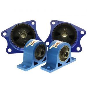 Hardrace Differentialhalterung Blau Honda S2000-62762