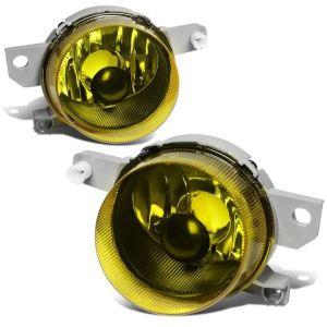 SK-Import Fernlicht Chrom Gehäuse Gelbes Glas Honda Del Sol-64201