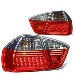 SK-Import Rücklicht LED Rotes Glas Getöntes Glas BMW 3-serie Pre Facelift-64207