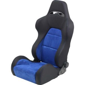 SK-Import Sitz As Verstellbar Schwarz - Blau-64957