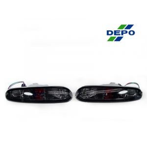 DEPO Vorne Blinker Smoke Chrom Gehäuse Getöntes Glas Mazda MX-5-67891