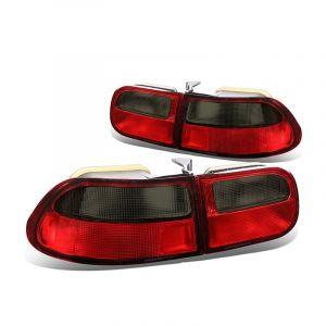 Sonar Rücklicht JDM Style Rotes Glas Getöntes Glas Honda Civic-67198
