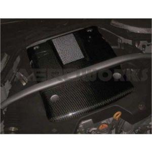 AeroworkS Motorabdeckung Type II Style Carbon Nissan 350Z Facelift-30663