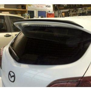 SK-Import Hinten Spoiler Add-on Schwarz ABS Plastik Mazda 3 Facelift-75780