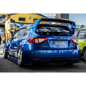 M2 Motorsport Hinten Dachspoiler Varis Style Schwarz Glasfaser Subaru Impreza-75782