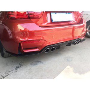 CarbonWorks Hinten Diffusor 3D Style Carbon BMW 3-serie,4-serie-79606