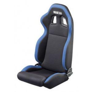 Sparco Sitz R100 Verstellbar Schwarz - Blau Textil-41079