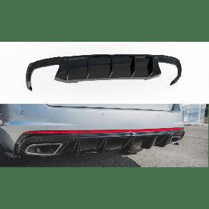 Maxton Hinten Diffusor V2 Schwarz ABS Plastik Skoda Octavia-77195