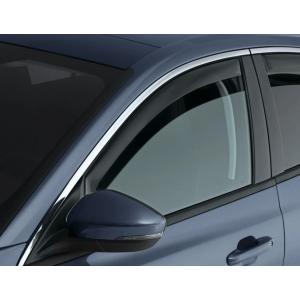 Climair Vorne Side Window Visor Tint Plastik Nissan Micra-34917