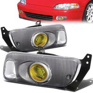 SK-Import Nebelscheinwerfer Gelbes Glas Honda Civic-79480