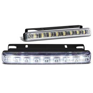SK-Import Vorne Nebelscheinwerfer 8 LEDs Klares Glas-79424