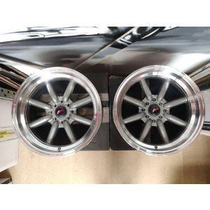 JR-Wheels JR19 Set Of 4 Felgen 16 Zoll 8J ET20 4x100,4x114.3-W2042