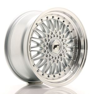 JR-Wheels JR9 Felgen 17 Zoll 8.5J ET35 5x112,5x120 Silber Machined-79949