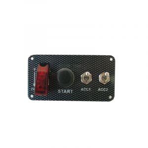 QSP Schalterpaneel Carbon Look-53682