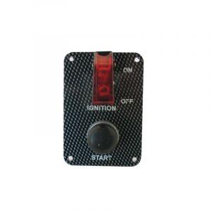QSP Schalterpaneel Carbon Look-53680