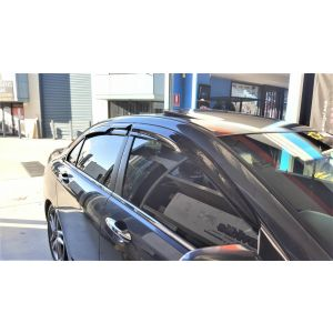 SK-Import Vorne und Hinten Side Window Visor Mugen Style Getönt Plastik Honda Accord-76144