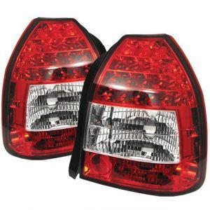 Sonar Rücklicht LED Klares Glas Rotes Glas Honda Civic-40987