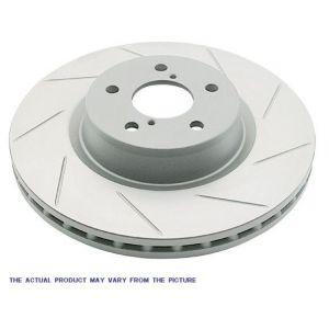 BrakeStop Vorne Bremsscheiben Sport Geschlitzt 242mm Honda Civic,Del Sol-55499