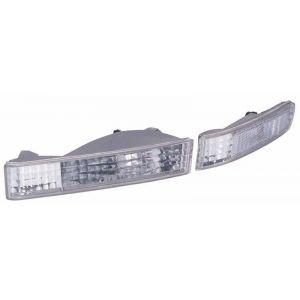 SK-Import Blinker Chrom Gehäuse Klares Glas Honda Prelude-51737
