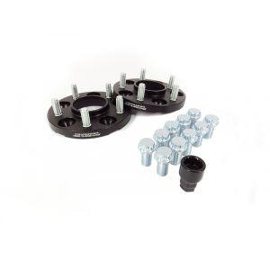 JR-Wheels Spurplatten JRWA1 Schwarz Aluminium-64410