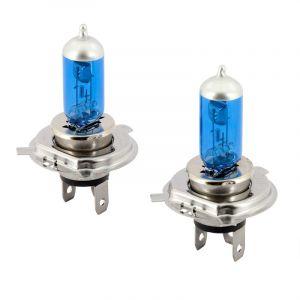 MegaWhite Halogenlampen Weiss H4-42065-1