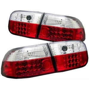 Sonar Rücklicht LED Klares Glas Rotes Glas Honda Civic-40989
