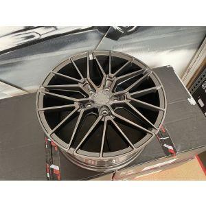 JR-Wheels JR38 Felgen 18 Zoll 8J ET40 5x120 Hyper Grau-W2029
