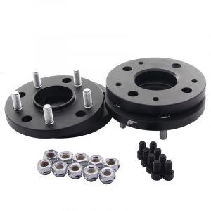 JR-Wheels Spurplatten JRWA4 Schwarz Aluminium-64413
