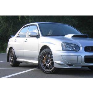 SK-Import Vorne und Hinten Side Window Visor JDM Getönt Plastik Subaru Impreza-43581