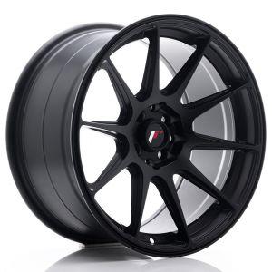 JR-Wheels JR11 Felgen 17 Zoll 9J ET20 4x100,4x114.3 Matt Schwarz-55730-29